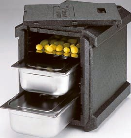 Thermohauser Thermobox front loading insulated food transport box
